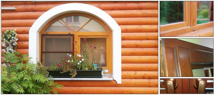 Как выбрать деревянные окна для дачи