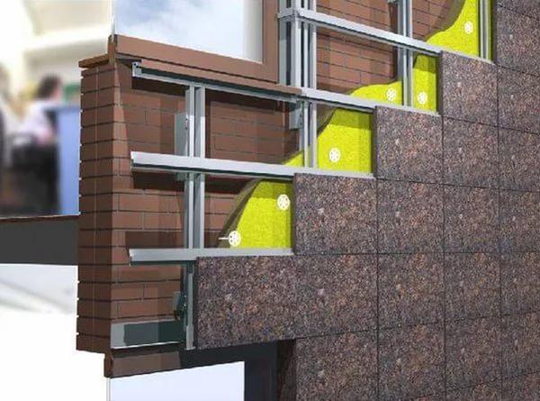 Плюсы вентилируемых фасадов