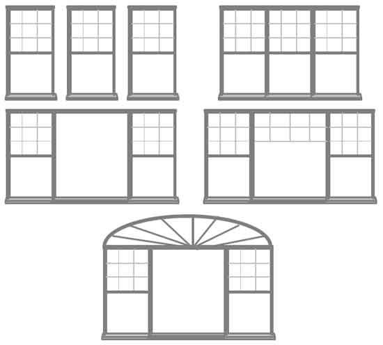 современное окно идеи дизайна