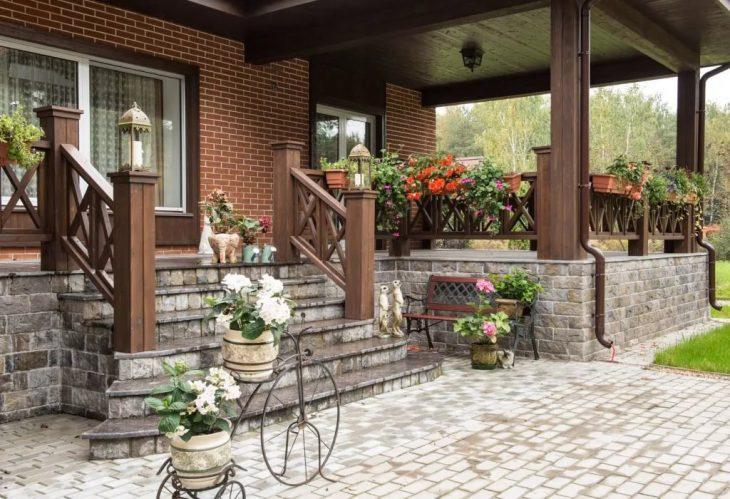 Дизайн террасы в загородном доме 45 фото идей