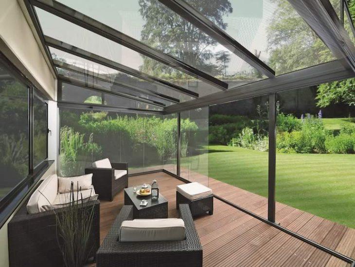 дизайн террасы в загородном доме