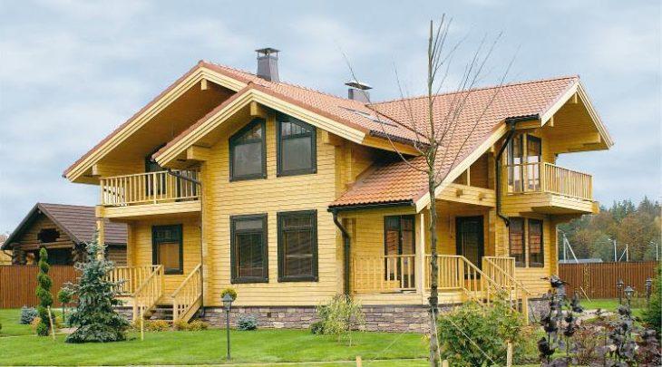 Финские дома – лидер в строительстве из дерева