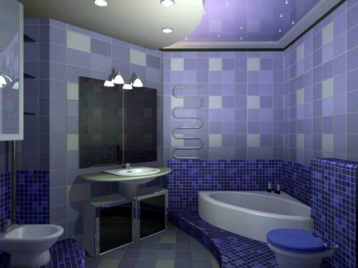 стены в ванной комнате варианты отделки