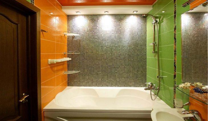 варианты отделки ванной комнаты фото