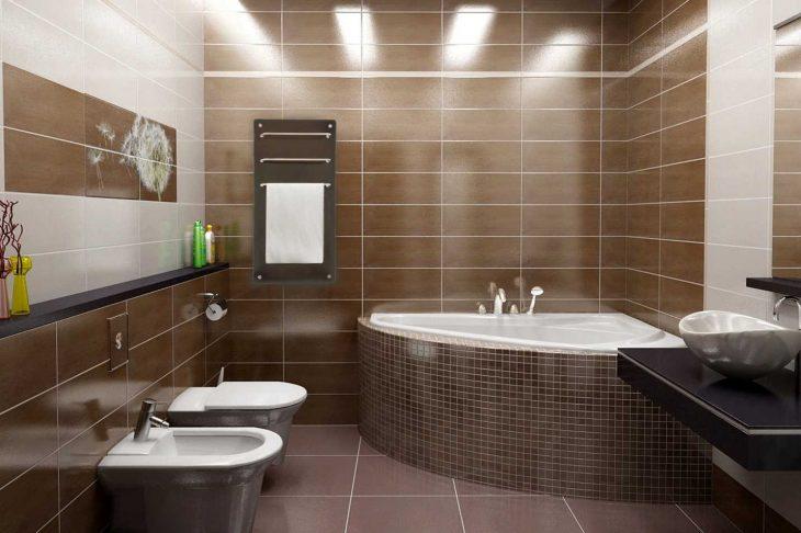 Варианты отделки ванной комнаты 75 современных идей