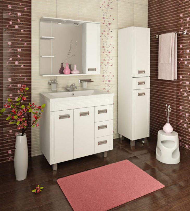 ванная комната со шкафом
