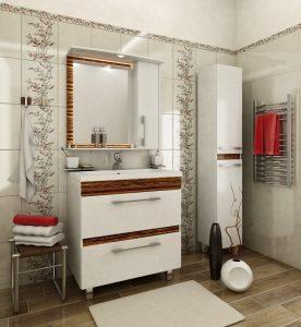 шкаф в ванную комнату фото