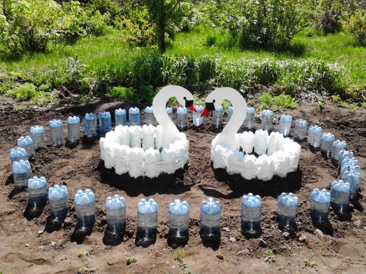 описание поделок из пластиковых бутылок