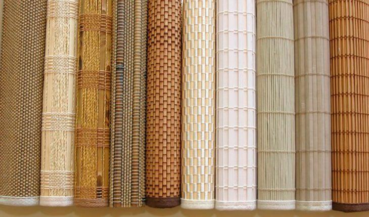 бамбуковые жалюзи рулонные