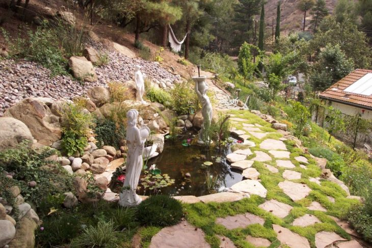 камни для ландшафтного дизайна