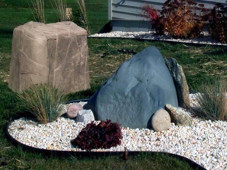 сад камней на даче