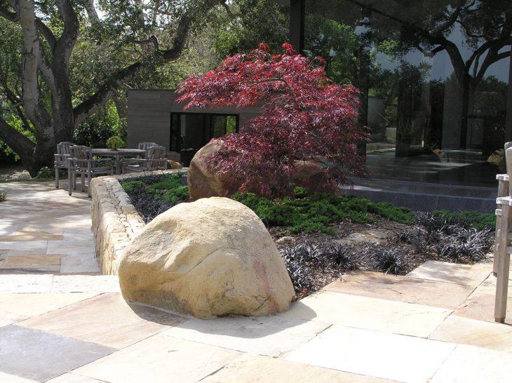 Камни для ландшафтного дизайна - 100 фото