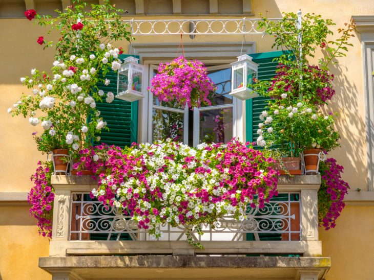 балконные ящики для цветов своими руками