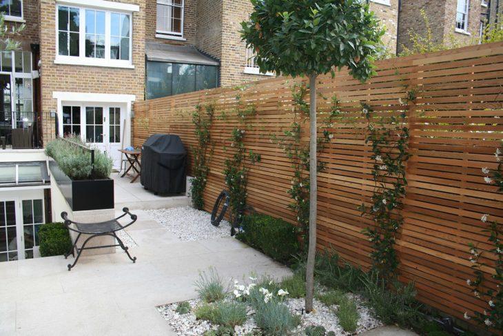 строим садовый забор