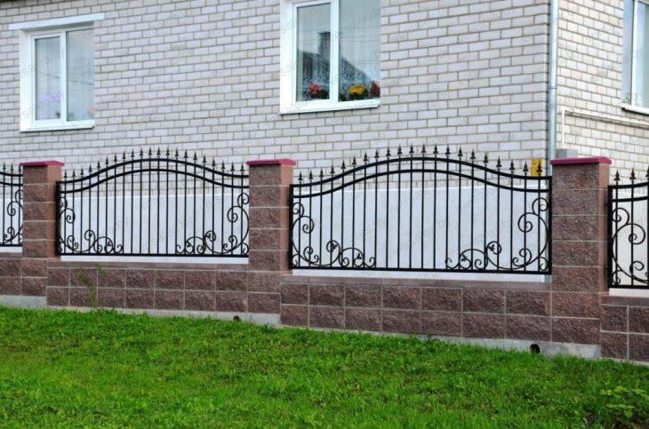 забор садовый металлический