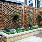 забор на садовом участке