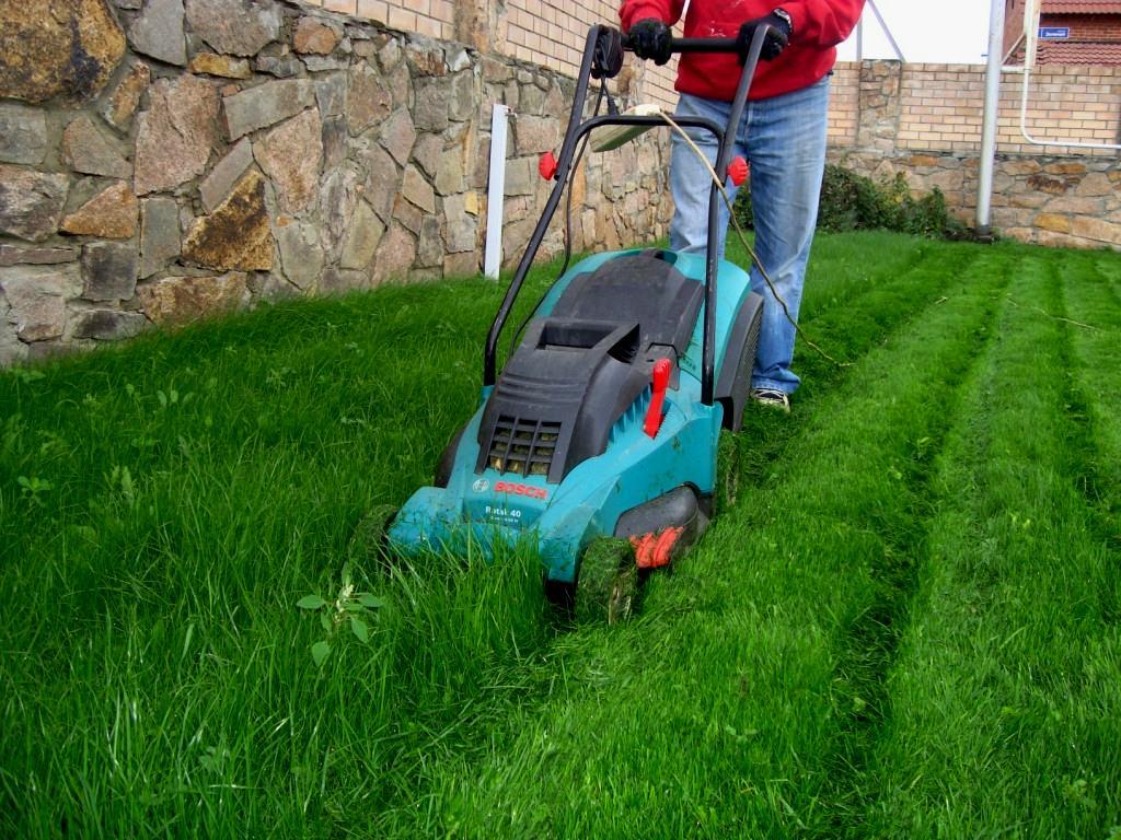 выбор самоходной газонокосилки