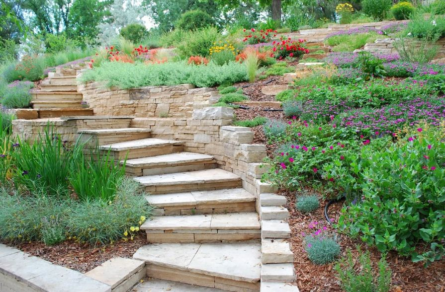 лестница садовая