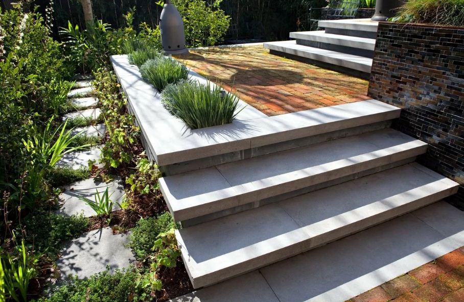 красивые лестницы в саду
