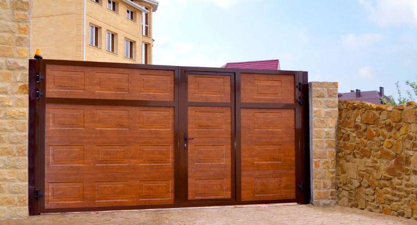 сделать въездные ворота