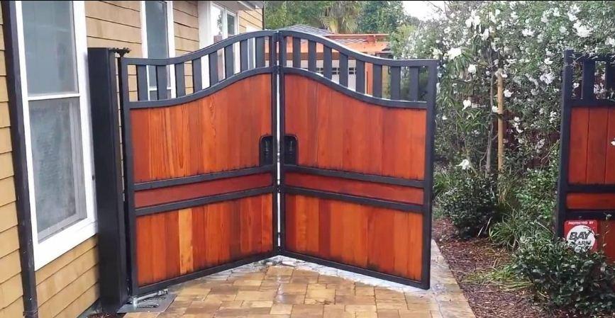 ворота въездные автоматические